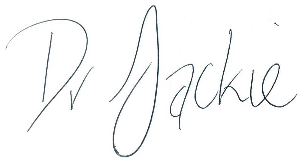 Dr Jackie signature